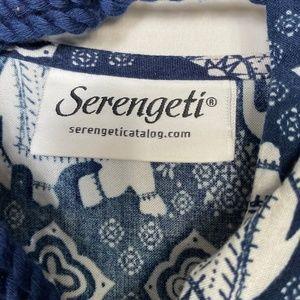 Serengeti Tops - Serengeti Tunic Blouse Size 3X